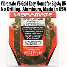 Vibramate V5 Gold Les Paul SG Mounting Kit Bigsby B5 Tremolo Gibson Standard NEW