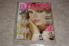 TAYLOR SWIFT December 2010 ALLURE MAGAZINE NEW * PARTIALLY SEALED