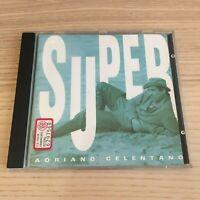 Adriano Celentano - Super Best_CD Album_1992 CGD Clan Fuori Catalogo come nuovo