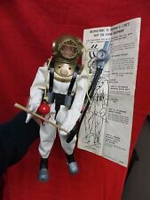 1964 VINTAGE GI JOE JOEZETA: 1965 DEEP SEA SALVAGE DIVER W/INTACT LINER SUIT