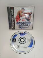 Knockout Kings 2001 (Sony PlayStation 1, 2000, EA Sports) CIB Complete