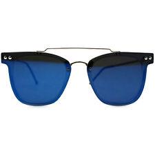 "NEW SPITFIRE Clear/Blue ""FTL 2"" Retro Flat Lens Sunglasses -SALE"