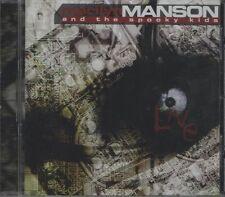 MARILYN MANSON & THE SPOOKY KIDS  Live CD ALBUM  NEW - STILL SEALED