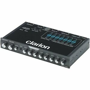 CLARION EQS755 1/2-DIN GRAPHIC EQ/CROSS W/ 3.5mm FRT AUX IN, HIGH LEVEL SPKR IN