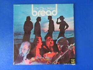 "Vinyl LP Bread, On The Water Elektra Records Hype Sticker 12"" record #1"