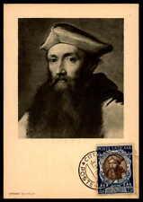 Vatican MK 1950 Concilio Trento Concile maximum carta carte MAXIMUM CARD MC cm dc48