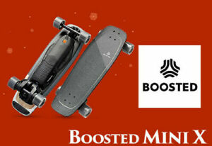 Boosted Mini X Electric Skateboard 1000W Motor Available In Stock