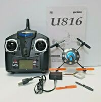 UDI 6 Axis Stablized U816 RC UFO Quadcopter Helicopter