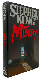 Stephen King MISERY  1st Edition 1st Printing