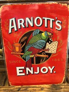 Arnott's Retro Metal Sign