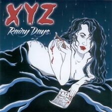 XYZ Rainy Days Rare CD Signed By Terry Ilous and Pat Fontaine Of XYZ
