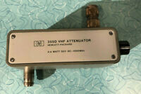 355D Hewlett-Packard VHF Attenuator, DC to 1000 MHz, 0 to 120 dB, 10 dB steps
