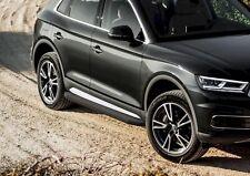 RIVAL Marche Pieds Aluminium  pour Audi Q5 depuis 2017 Premium Black
