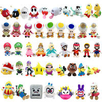 Super Mario Bros Cappy King Dedede Nabbit Toad Boo Baby Luigi Plush Toy Optional