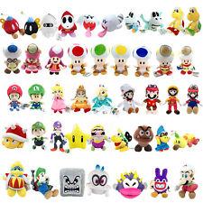 Super Mario Bros Cappy King Dedede Nabbit Toad Boo Baby Luigi Plush Toy Optional