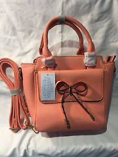 Luna Moon Purse Handbags for Ladies and Girls, Pink - New