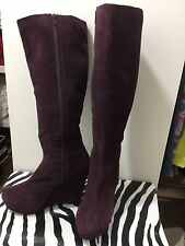 Office ladies size 38/7.5-8 wedge boots