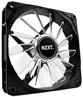 NZXT Airflow Series FZ-120 120mm 1200rpm Red LED Cooling Case Fan RF-FZ120-R1