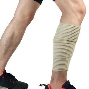 Sports Protective Gear Protection Calf Elastic Bandages Leg Sleeve Adjustable