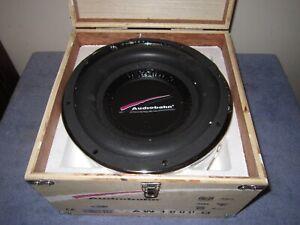 "Audiobaun AW-1000Q Car 10"" Subwoofer Speaker, New Original Box w Manual"