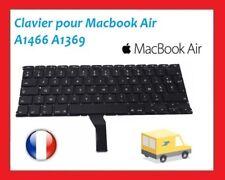 "Clavier Francais AZERTY Apple Macbook Air 13"" A1466 2012 2013 2014 2015 2017"