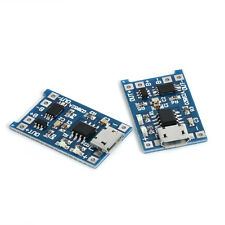 2PCS 5V Micro USB 1A 18650 Lithium Battery Charging Board Charger Module hot