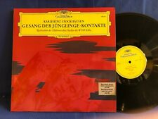STOCKHAUSEN GESANG JUNGLINGE ORIG GERMANY LP MINT