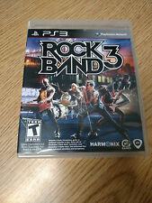 ** Rock Band 3 (Sony PlayStation 3, 2010)