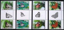 Samoa 2015 Mi. 1255-58 ** Schmetterlinge Butterflies Gutterpairsatz Mi. 240,-- €