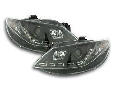 Scheinwerfer Daylight LED TFL-Optik Seat Ibiza Typ 6J Bj. 08-12 schwarz Scheinwe