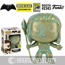 Batman v Superman: Dawn of Justice Aquaman Patina Pop! Vinyl Figure - EE Exclus.