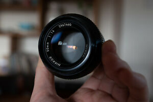 Nikkor pre-Ai mf 50mm f1.4 lens