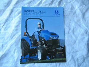 New Holland TC18 TC21D TC24D TC29D boomer compact tractor brochure
