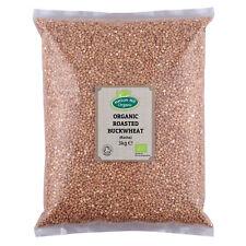 Organique rôti Sarrasin (Kasha) 3 kg Certified Organic