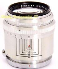 RARE Model! Carl ZEISS Jena Sonnar 1:2 f=8.5cm Alu Barrel Lens CONTAX Micro 4/3