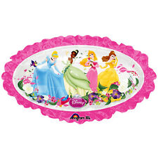 DISNEY PRINCESS OVAL SUPERSHAPE FOIL MYLAR BALLOON ~ Birthday Party Supplies