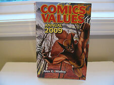 """Comic Values """" 2009 """" by Alex G. Malloy (2009, Paperback, Annual)"""