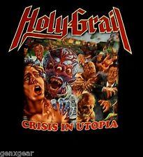 Holy Grail cd cvr Crisis In Utopia Official Shirt Large new