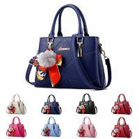 Women Leather Handbag Shoulder Cross Body Bag Women Tote Messenger Satchel Purse