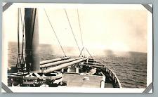 Percy B. Pope, USA, At Sea  Vintage silver print. Photo provenant d'un Albu