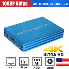 1080P 4K HDMI To USB 3.0 Video Capture Card Dongle for OBS Game Live Stream