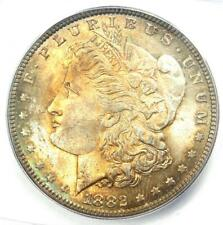 1882 Morgan Silver Dollar $1 Coin 1882-P. ICG MS66 - Rare in MS66 - $1250 Value!