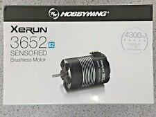 Hobbywing XERUN SCT 3652SD G2 Sensored Brushless Motor (4300kV) 30401059 New!!