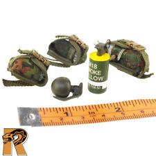 KSK Assaulter - Grenades & Pouches Set - 1/6 Scale - Damtoys Action Figures