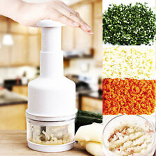 Chopper Pressing Cutter Tool- Vegetable Salad Dicer Onion Garlic Slicer Peeler