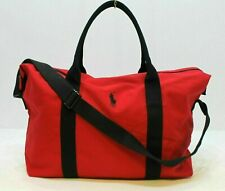 RALPH LAUREN POLO RED DUFFLE / TRAVEL/ HOLDALL / WEEKEND BAG / GYM BAG