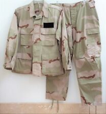 USA OFFICIAL ISSUE MILITARY COMBAT 2-pc Jckt + Pants Set, Desert Camouflage, NEW