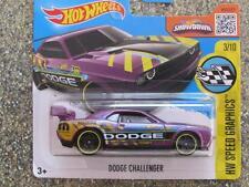 Hot Wheels 2016 #178/250 DODGE CHALLENGER DRIFT CAR purple Case E