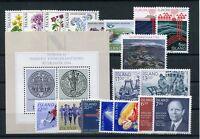 Island Jahrgang 1983 postfrisch in den Hauptnummern kompl. ................2/152