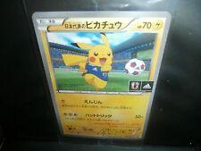 Pokemon NEW JAPAN SOCCER PIKACHU XY-P 050/XY-P NATIONAL LEAGUE PROMO !! NEW